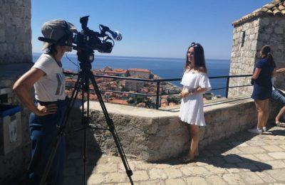 Njemačka televizija Deutsche Welle snima emisiju o Dubrovniku
