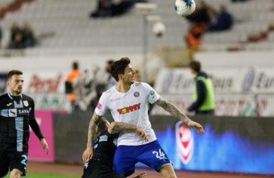 Jadranski derbi: Hajduk danas od 21.05 sati protiv Rijeke na Poljudu