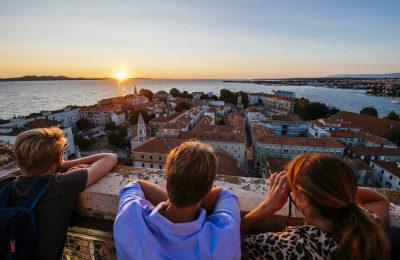 Zadar je u lipnju bio među 10 najboljih domaćih destinacija u noćenjima i turist