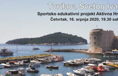 Vodeći sportsko edukativni projekt Aktivna Hrvatska – u Dubrovniku na Tvrđavi svetog Ivana