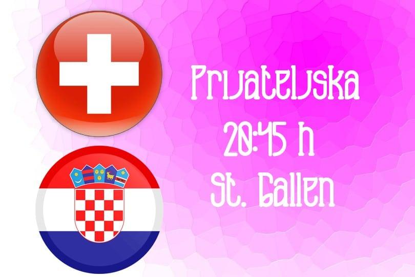 Spremni za prekid gubitničkog niza: Švicarska – Hrvatska (20:45 h)