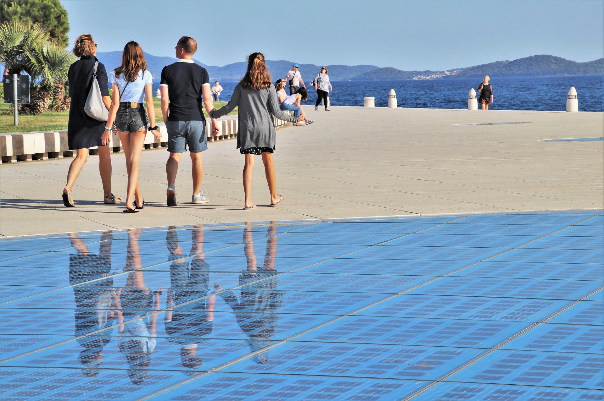 U posljednjih 20 dana u Zadar stiglo 7600 turista, lani svega – 724!