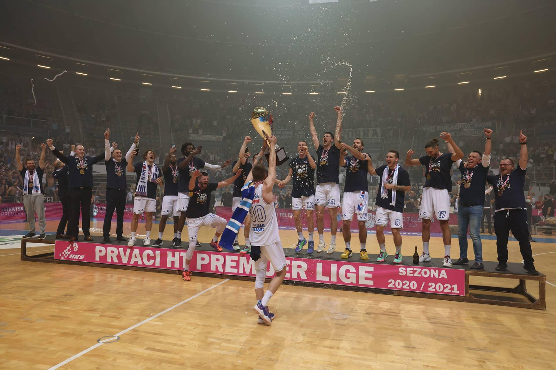 Zadar je prvak Hrvatske!