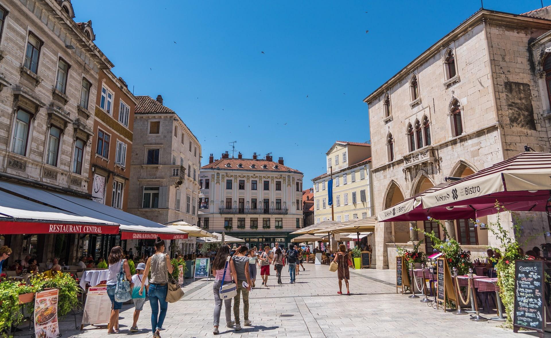 Split je u svibnju posjetilo sedam puta više gostiju nego lani
